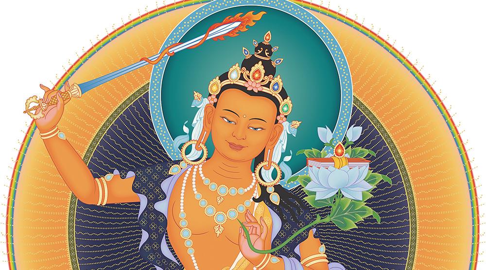 Buddha Manjushri